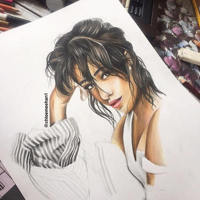 Camila Cabello Drawing By Chloemeehan1 On Deviantart