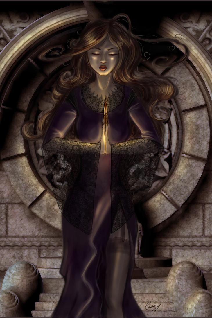 Kind Dark Witch by Dame-Cruz