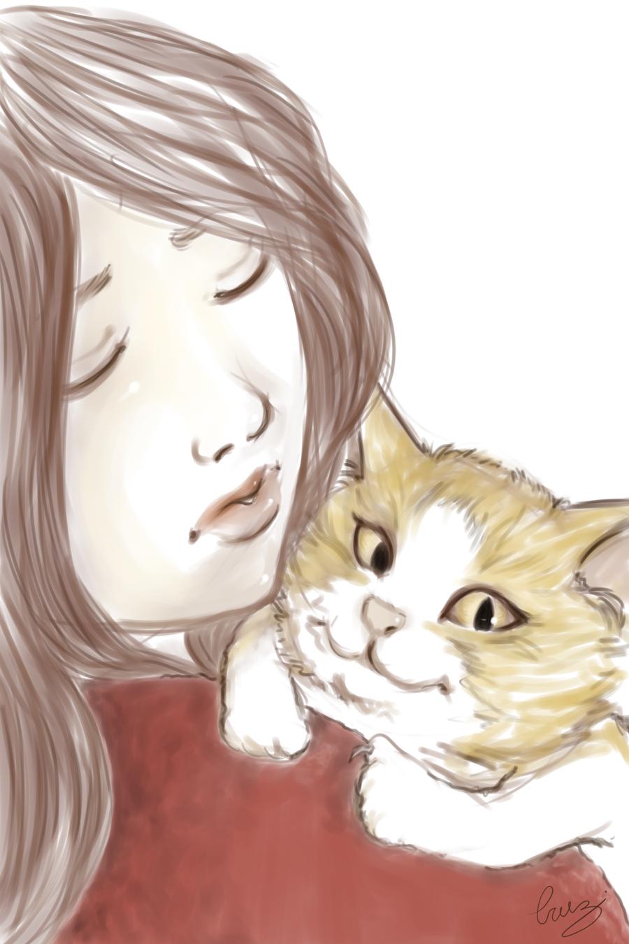 Kitten by Dame-Cruz