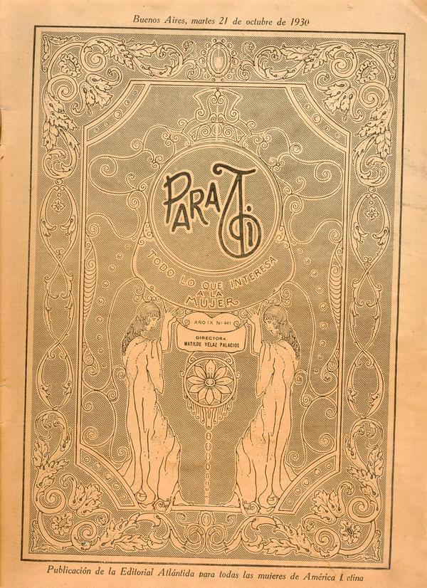 Old magazine by Dame-Cruz