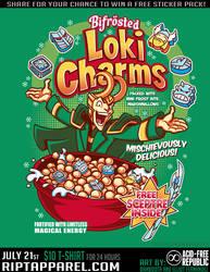 Loki Charms T-Shirt by Bamboota