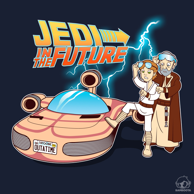 Jedi in the Future by Bamboota