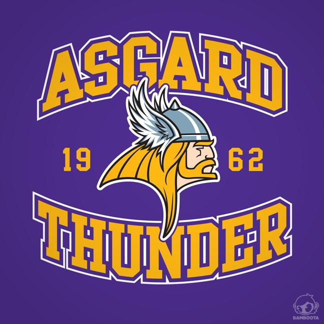Asgard Thunder by Bamboota