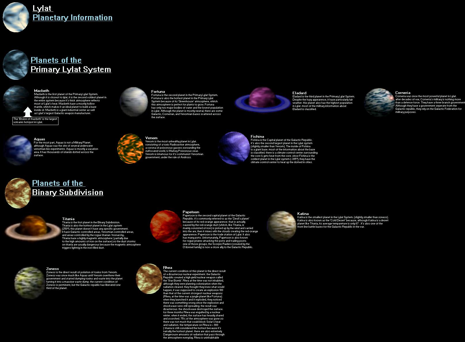Lylat Planetary info by Tango458 on DeviantArt
