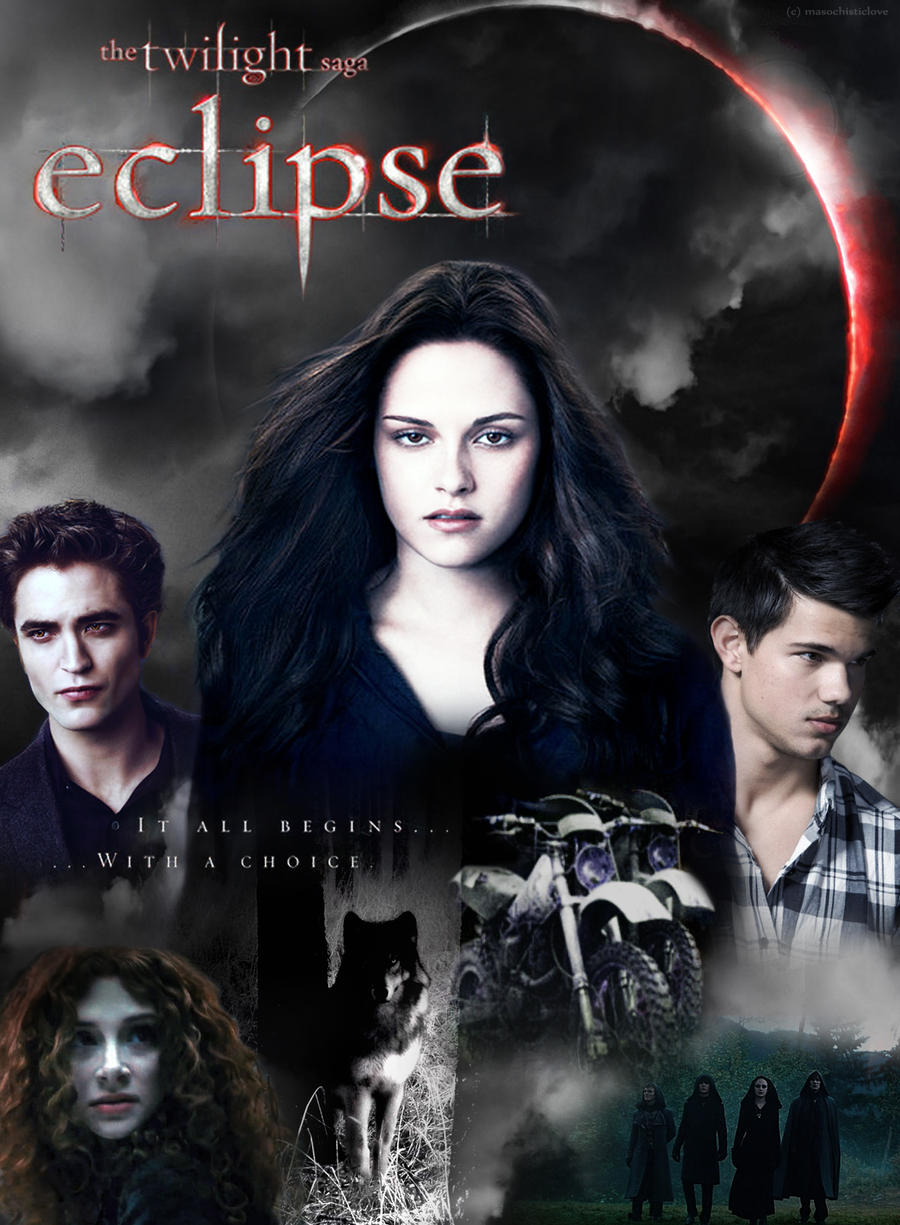Twilight Eclipse Poster by masochisticlove