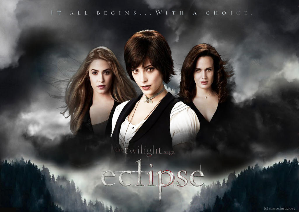 Eclipse - Cullen Girls by masochisticlove