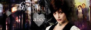 Alice Cullen Bookmark by masochisticlove