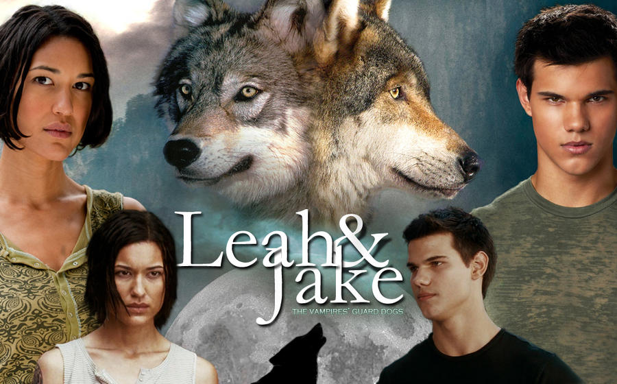 Leah and Jake by masochisticlove