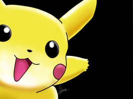 Digi Test 1 - Pikachu by masochisticlove