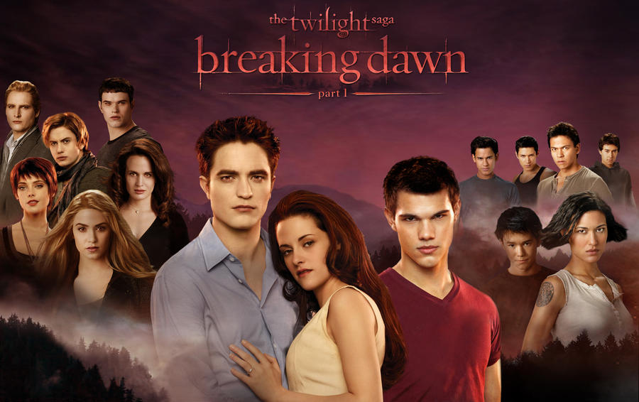Breaking Dawn Wallpaper by masochisticlove