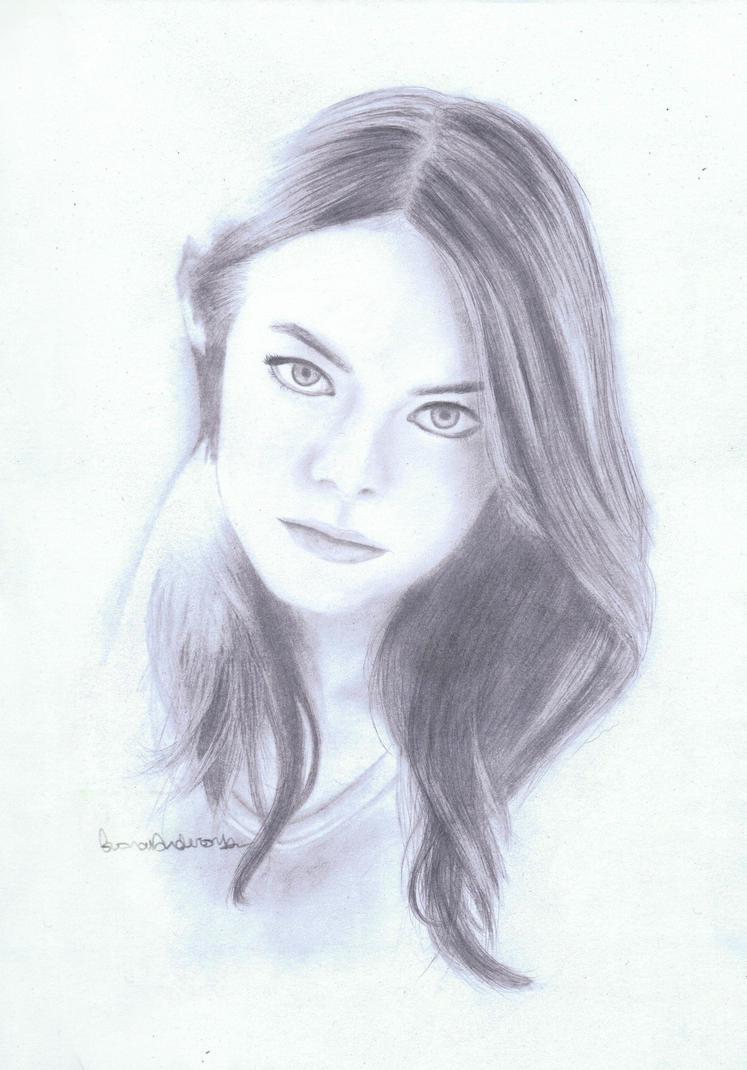 Emma Stone by masochisticlove