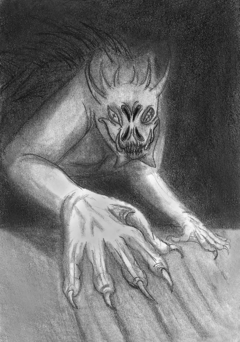 Shadow Scratches by Dani-Claw