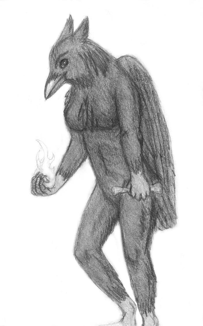 Branwen (1st sketch) by Dani-Claw