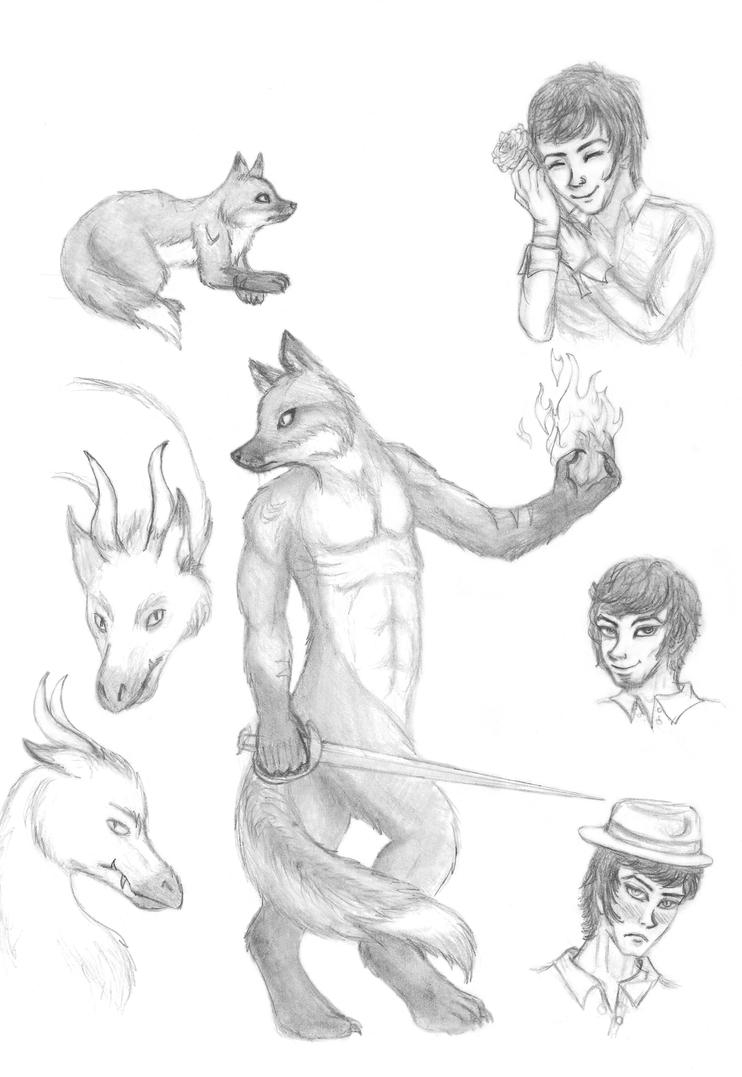 Lovely Ignis Page by Dani-Claw