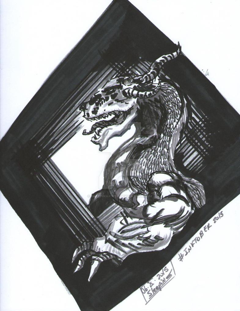 Retrato Draconiano by sleepinartist