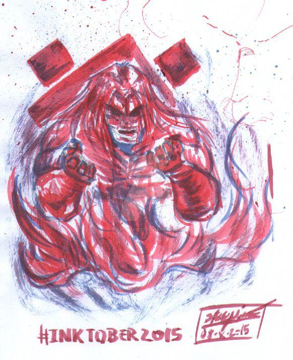 Ink'd Wrath by sleepinartist