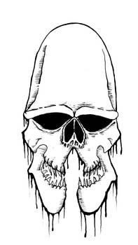 Humanoid Alien Skull