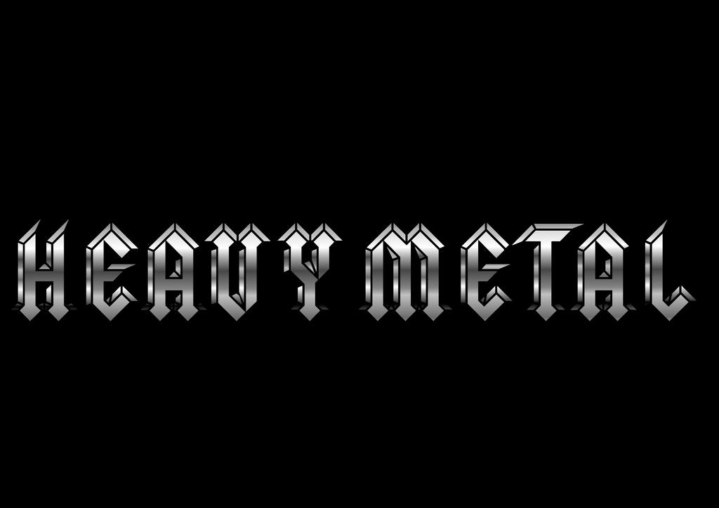 heavy metal logo by rotemavid on deviantart rh deviantart com heavy metal band logos Heavy Metal Lettering