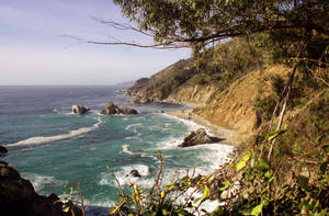 View from Big Sur 4 by Datasmurf