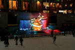 Rockefeller Skate Rink at Night