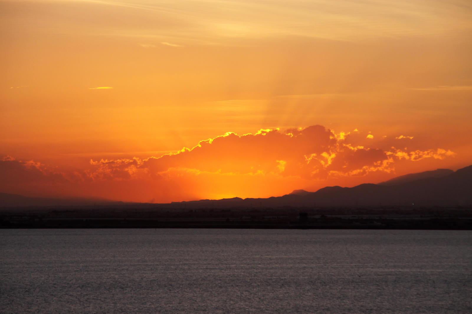 Sunset at La Manga 05 by Datasmurf