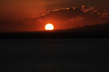 Sunset at La Manga 04 by Datasmurf
