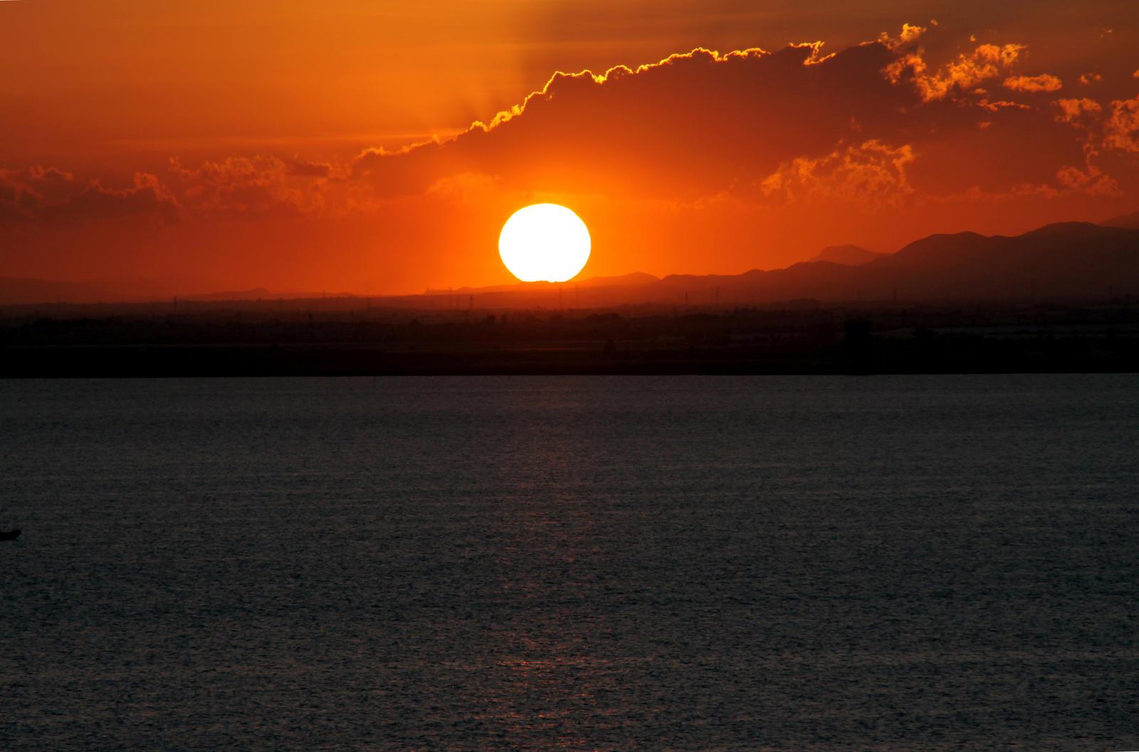 Sunset at La Manga 03 by Datasmurf