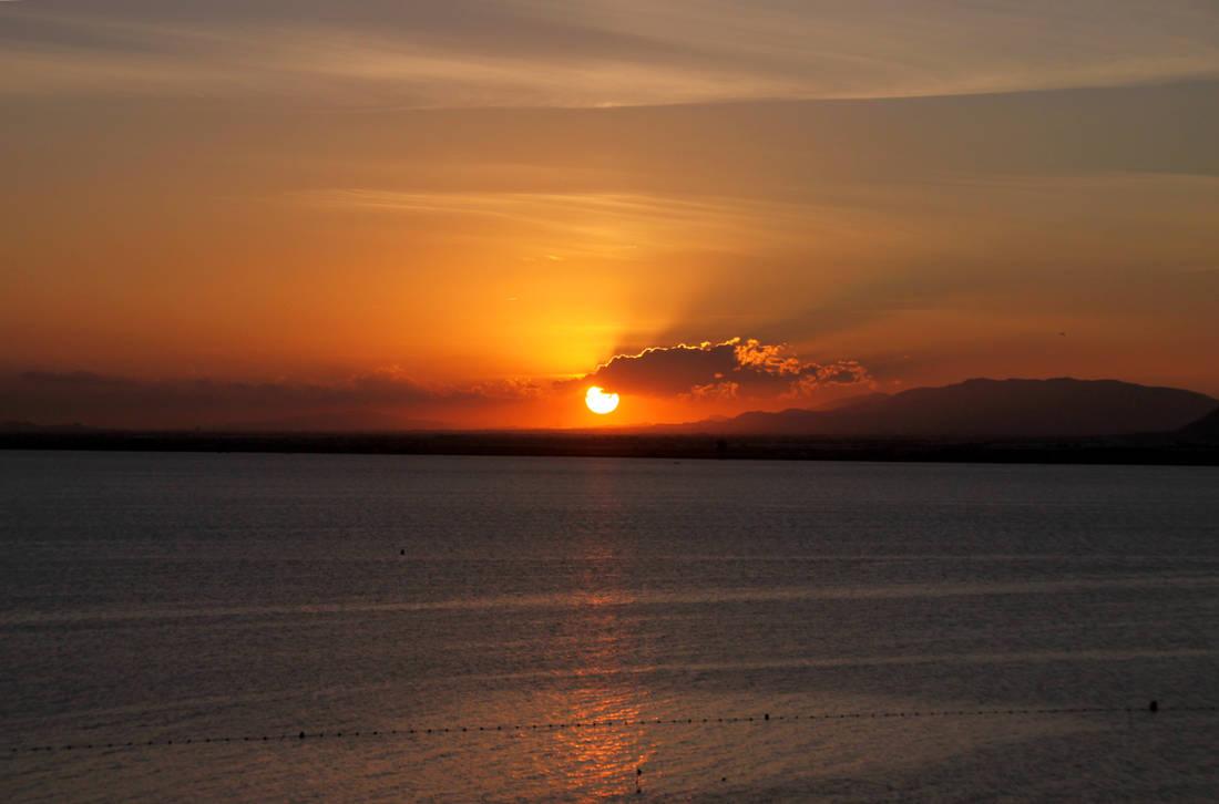 Sunset at La Manga 02 by Datasmurf