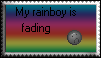 Fading Rainbow-Stamp by Shadowhedge1001