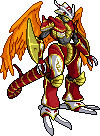 Vritramon sprite by Garmmon