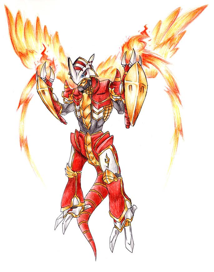 Burning Demon Dragon by Garmmon on DeviantArt