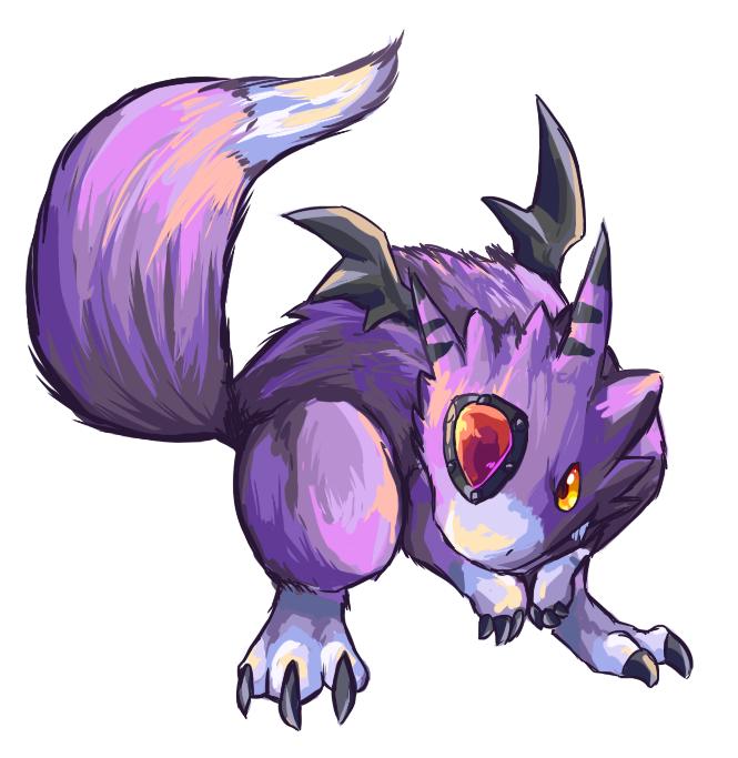 Descubra o Digimon pela imagem Dorumon_by_garmmon-d3dfd2u