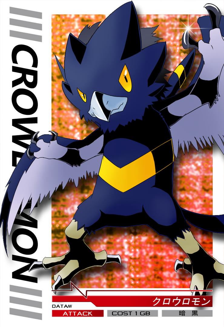 Crowlomon Jintrix card by Garmmon