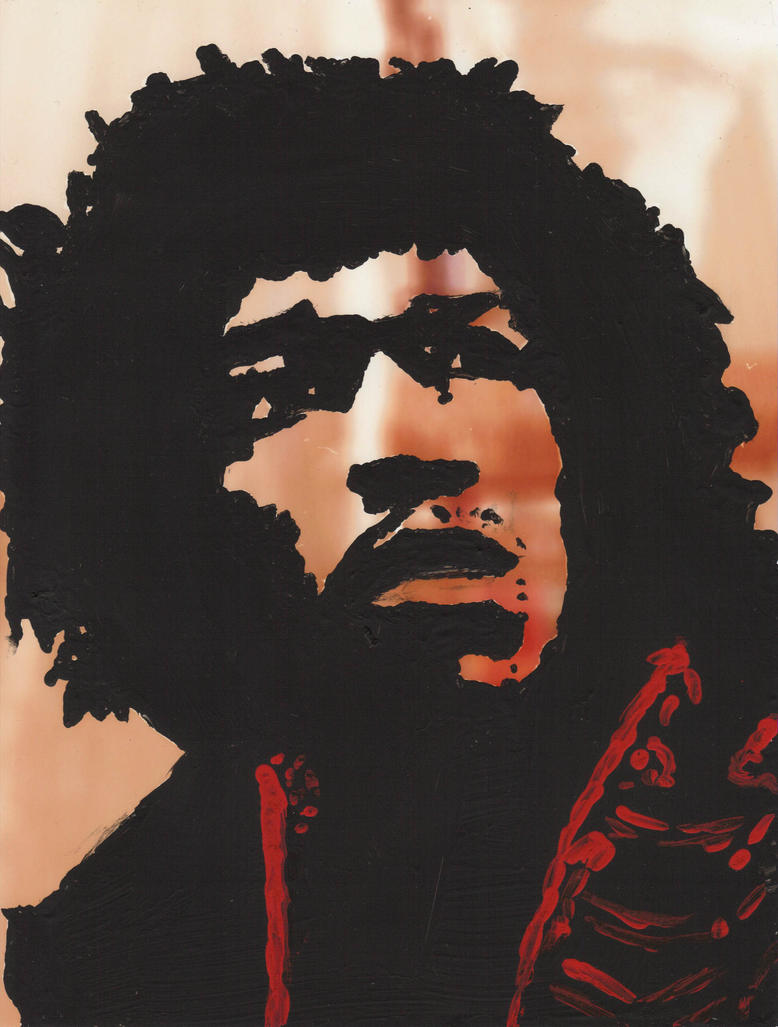 Jimi Hendrix by Floydbass14