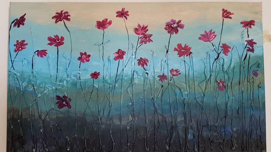 A flower field by priestess666