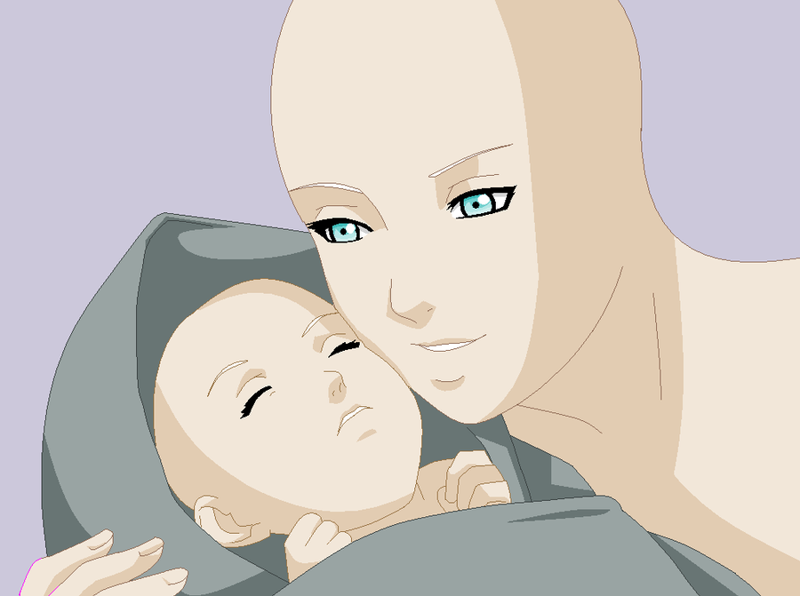 Mother and child Base - Request - by Beyond-Birthday-666