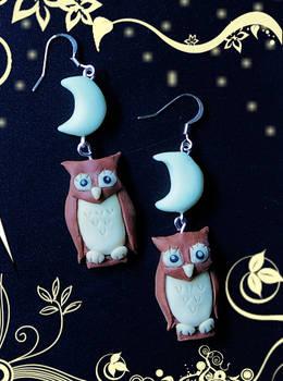Crescent Owls ON SALE