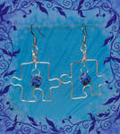 Puzzle Earrings on SALE