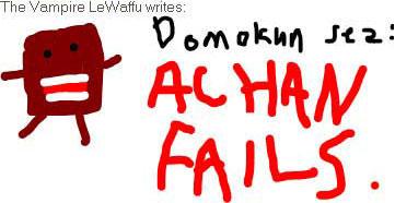 HI ACHAN LOL by mrwaffle