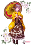 [ Render ] Yukiko-tan ( Coffee ) #6
