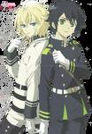 [ Render ] Hyakuya Mikaela and Hyakuya Yuuichirou