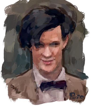Matt Smith iPhone Painting by jonpinto