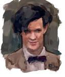 Matt Smith iPhone Painting