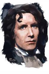 Paul McGann iPhone painting by jonpinto