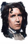 Paul McGann iPhone painting