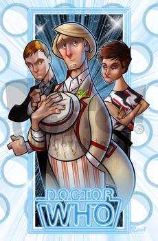 Fifth Doctor, Tegan and Turlough