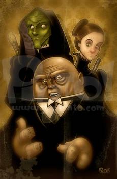 Vastra, Jenny and Strax