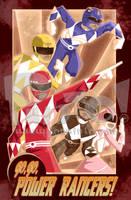 Power Rangers by jonpinto