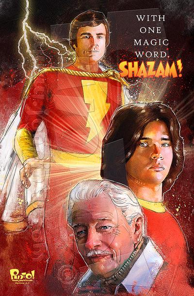 Shazam by jonpinto