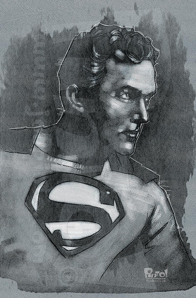 Superman: Kirk Alyn by jonpinto